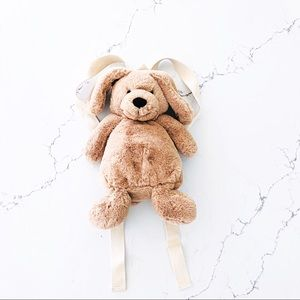 Zara Kids Plush Dog Backpack